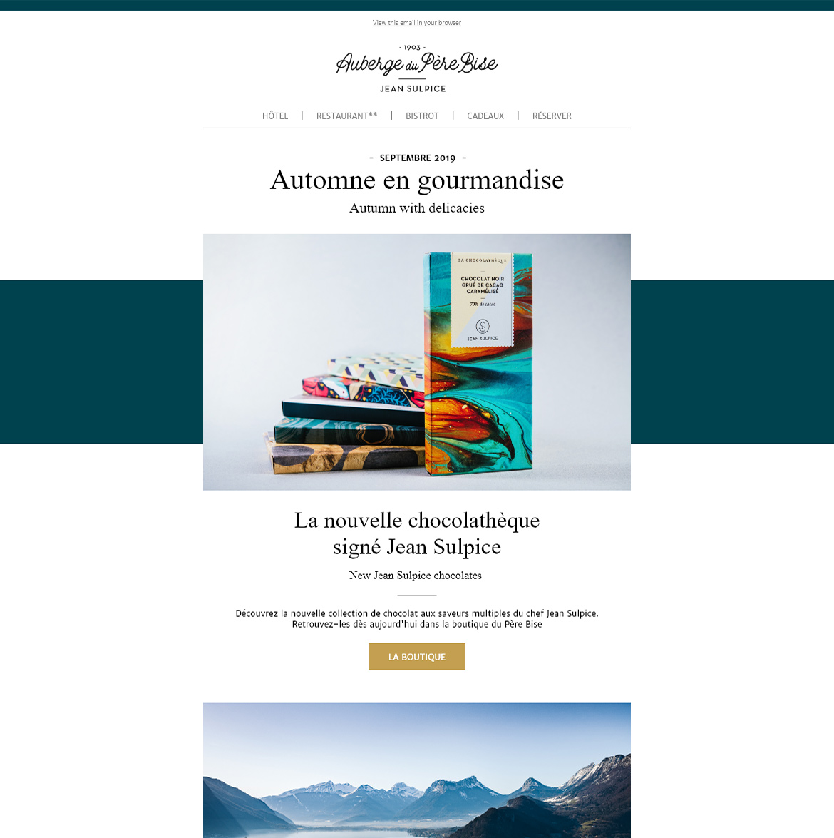 newsletter-auberge-pere-bise
